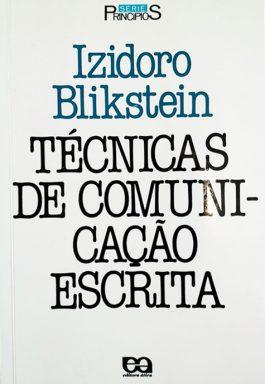 Técnicas De Comunicação Escrita (Série Princípios)