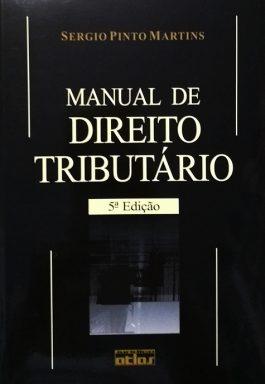 Manual De Direito Tributário – 5ª Edição
