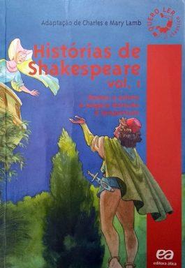 Histórias De Shakespeare – Vol. 1 (Série Quero Ler Clássicos)