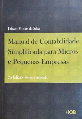 Manual De Contabilidade Simplificada Para Micros E Pequenas Empresas