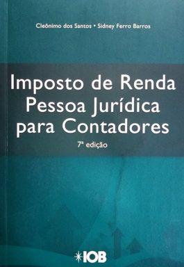 Imposto De Renda Pessoa Jurídica Para Contadores