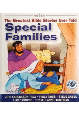 The Greatest Bible Stories Ever Told: Special Families (Acompanha CD)