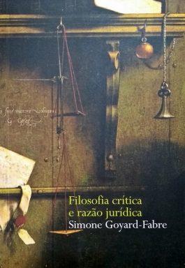 Filosofia Crítica e Razão Jurídica