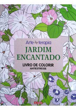 Jardim Encantado – Livro De Colorir Antiestresse