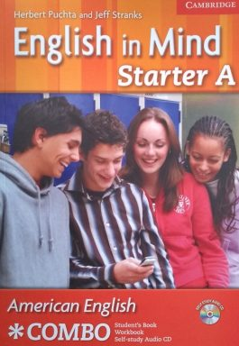 English In Mind Starter A – American English Combo – Student's Book – Workbook – Self-Study Audio CD