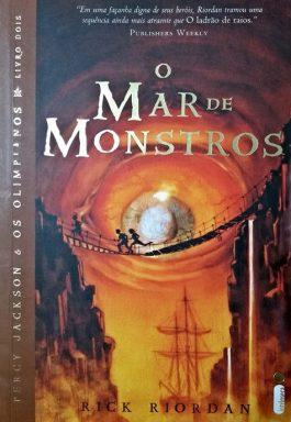 O Mar De Monstros – Percy Jackson E Os Olimpianos – Livro 2