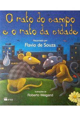 O Rato Do Campo E O Rato Da Cidade (Coleção Lê Pra Mim)