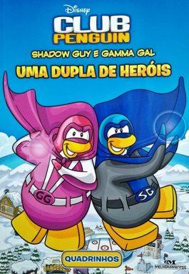 Shadow Guy E Gama Gal: Uma Dupla De Heróis (Quadrinhos)