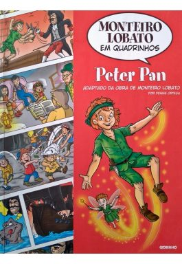Peter Pan (Coleção Monteiro Lobato Em Quadrinhos)