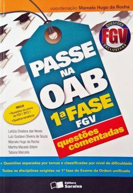 Passe Na OAB 1ª Fase FGV: Questões Comentadas