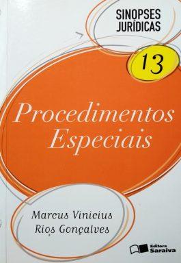 Procedimentos Especiais (Sinopses Jurídicas – Vol. 13)