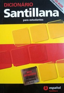 Dicionário Santillana Para Estudantes: Espanol / Português – Português / Espanhol (Acompanha CD)