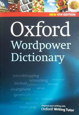 Oxford Wordpower Dictionary – New 4TH Edition